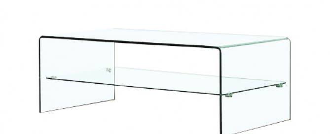 Lisa: Table basse design en verre 12 mm - SoDezign