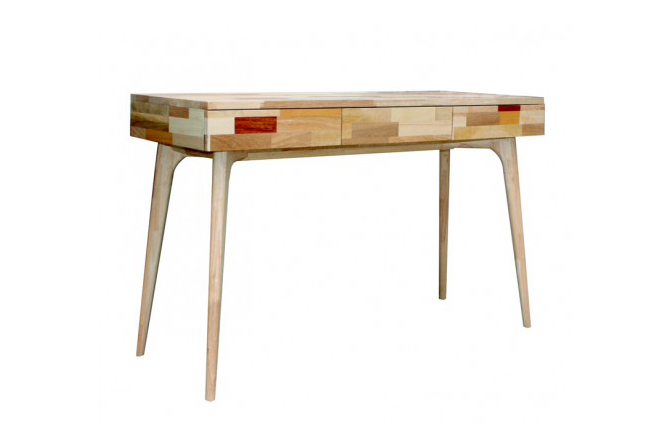Console extensible design blanc blog d co et design de sodezign - Bureau console design ...