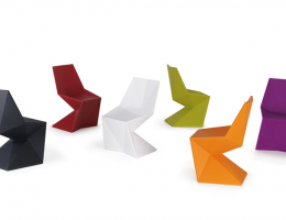 Vertex: Chaises design Vondom finition mat - SoDezign