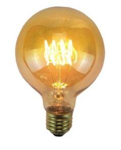 Ampoule à Filament LED Vintage GLOBE - E27 - Ø 8,2 cm