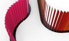 Séparation Acoustique BuzziBlinds Curved 45 - Design BuzziSpace