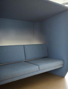 Box Acoustique Canapé 4 places BuzziHub Side - Design BuzziSpace