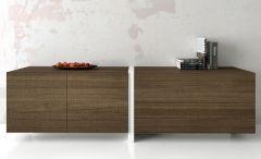 Buffet Bas en Bois Doppio - 186 à 246 cm - Profilo Design - Tagged