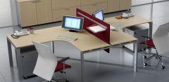 Bureau d'angle Compact GLIDER - Design Bralco