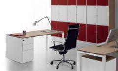 Bureau avec Caisson Personnalisable GLIDER - Design Bralco