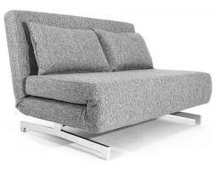 Canapé Convertible Design Stockholm Gris - 120 cm
