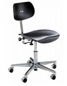 Chaise de Bureau à Roulettes S 197 GH - Design Egon Eiermann 1949 - Wilde + Spieth