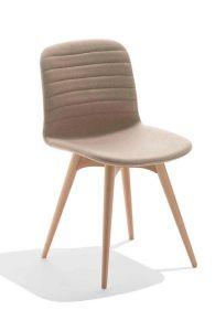 Chaise 4 pieds en bois Liu L - Design Archirivolto - Midj
