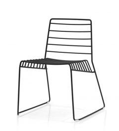 Chaise Pieds Traîneau PARK - Design Neuland Paster & Geldmacher - B-Line