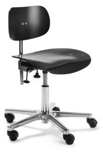 Chaise de Bureau à Roulettes S 197 R - Design  Egon Eiermann 1949 - Wilde + Spieth