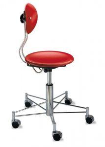 Chaise de Bureau à Roulettes SBG 41 - Design Egon Eiermann 1949 - Wilde + Spieth