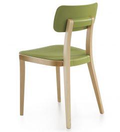 Chaise 4 Pieds en Bois PORTA VENEZIA - Dorigo Design - Infiniti