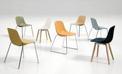 Chaise Pieds Traîneau PURE LOOP Binuance - Design Claus Breinholt - Infiniti