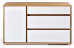 Commode en bois Clarion - Largeur 130 cm - Design Tagged
