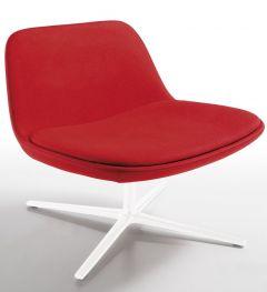 Fauteuil Lounge sur Pied Pivotant PURE LOOP - Design C. Breinholt - Infiniti