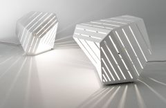 Lampe Dali - Design Delineodesign - Blanc