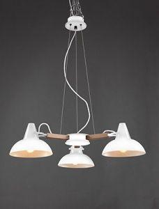 Lustre Design Ovni - Blanc