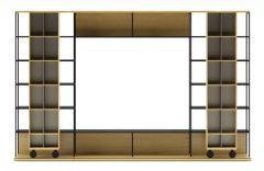 Meuble TV Literatura Open - Largeur 179 cm - Design Vicent Martínez - Punt
