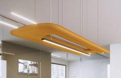 Elément suspendu acoustique BuzziZepp LED - Design BuzziSpace