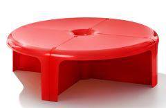 Table Basse / Bibliothèque Modulable 4X4 - Design Rodolfo Bonetto - B-Line