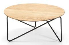 Table basse extérieure Polygon - Ø 60 à 84 cm - Design Numen/For Use - Prostoria