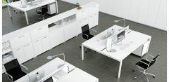 Poste de Travail 2 / 4 pers. GLIDER - Design Bralco