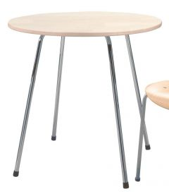 Table de Repas Ronde SE 330 - Design Egon Eiermann 1949 - Wilde + Spieth