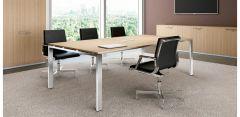 Table de Réunion Personnalisable GLIDER - Design Bralco