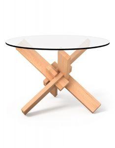 Table Basse Design 1x6 en Bois - Mobilier Puzzle