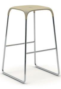 Tabouret de Bar Pieds Traîneau BOBO - Design Fabrizio Batoni - Infiniti