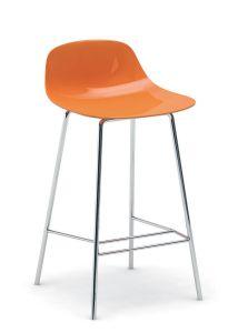 Tabouret de Bar 4 Pieds PURE LOOP Mini - Design C. Breinholt - Infiniti