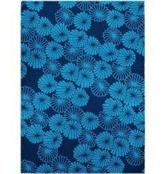Tapis Design Haut de Gamme Floral - Personnalisable