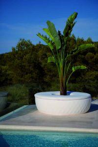 Jardinière / Banc Vases Isla - Design JM Ferrero - Vondom