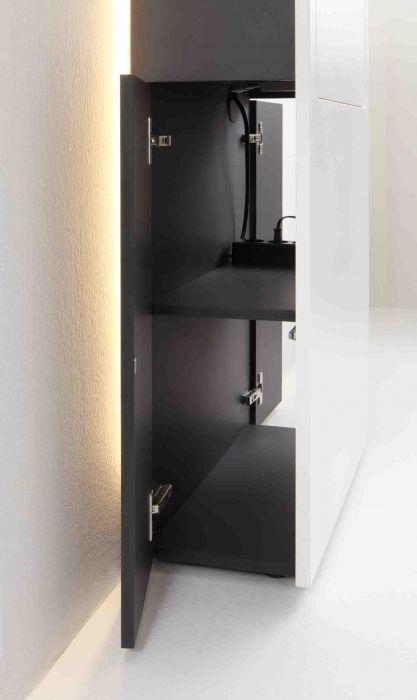 Bureau Secrétaire Design Slim Desk Smaider - Rouge