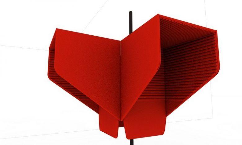 Box Acoustique Mural BuzziHood - Design BuzziSpace