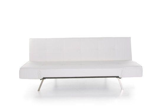 Canapé Convertible Design Java Blanc