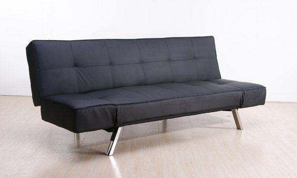 Canapé Convertible Design Java Noir