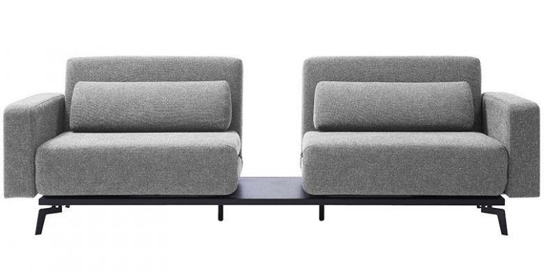 Canapé Convertible Design Malmo Gris