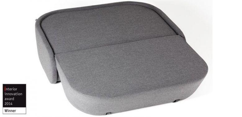 Canapé Convertible 2 places UP-LIFT 160 cm - Design Prostoria