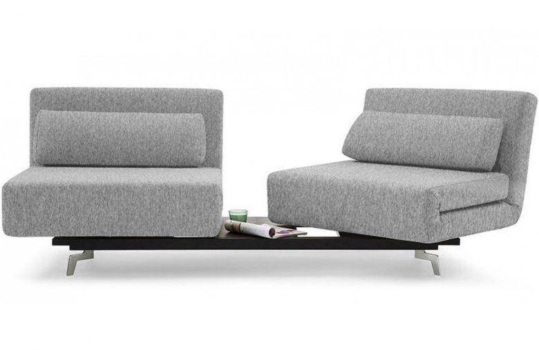 Canapé Convertible Design Loveseat Plus - Gris - 184 cm
