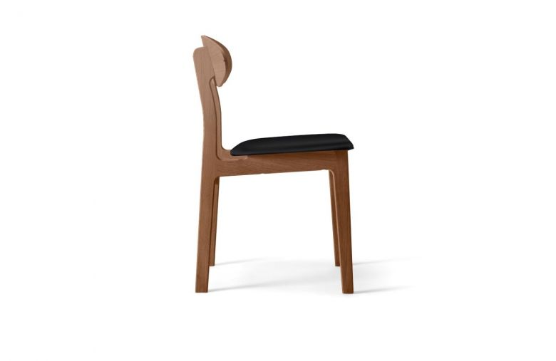 Chaise 4 pieds en bois Tribe - Design Wood and Vision