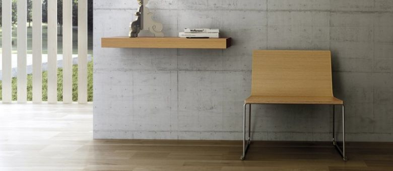 Chaise Pieds Traîneau Boomerang XL - Design Ondarreta