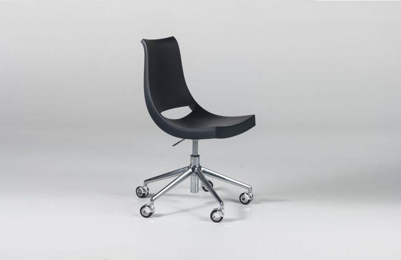 Chaise de bureau à roulettes Chiacchiera - Design Marco Maran - Casprini