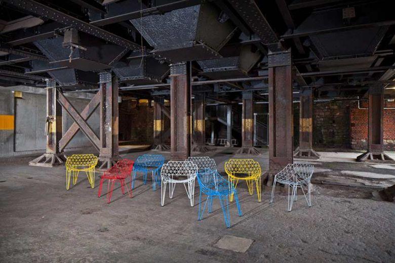 Chaise de Fil CU! - Design Avinash Shende - Wilde + Spieth