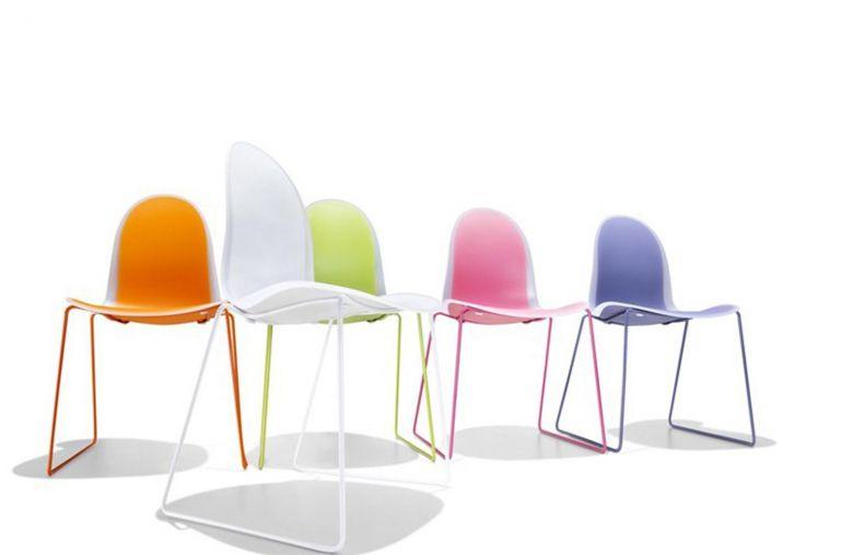 Chaise Pieds Traineau 3x2 - Design Marco Maran - Casprini