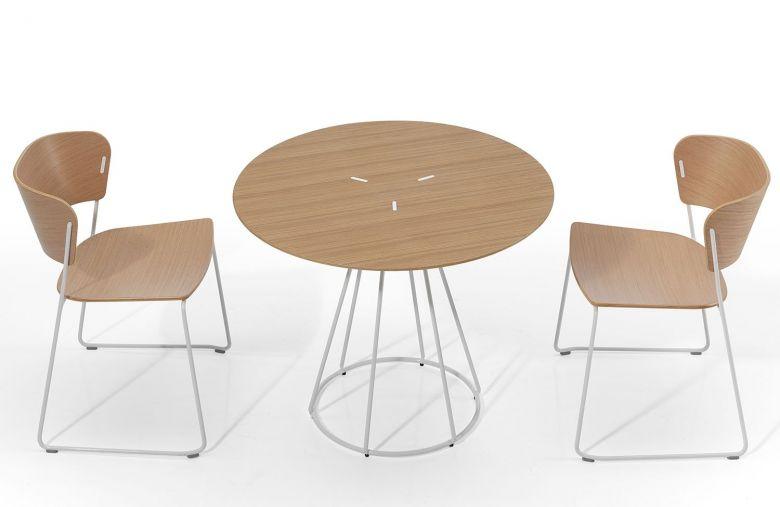 Chaise Pieds Traîneau ARC - Design Yonoh - Inclass