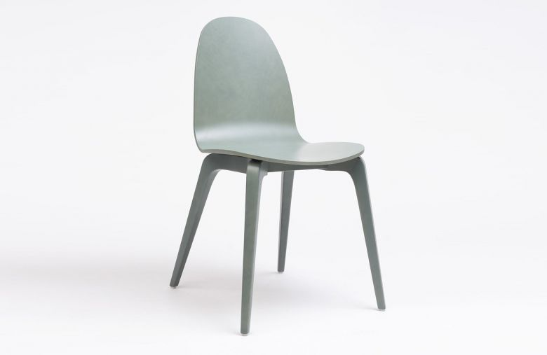 Chaise 4 Pieds Bois Bob - Design Nadia Arratibel - Ondarreta