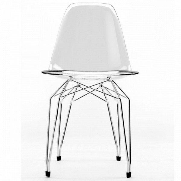 Chaise Design Vesta en Polycarbonate