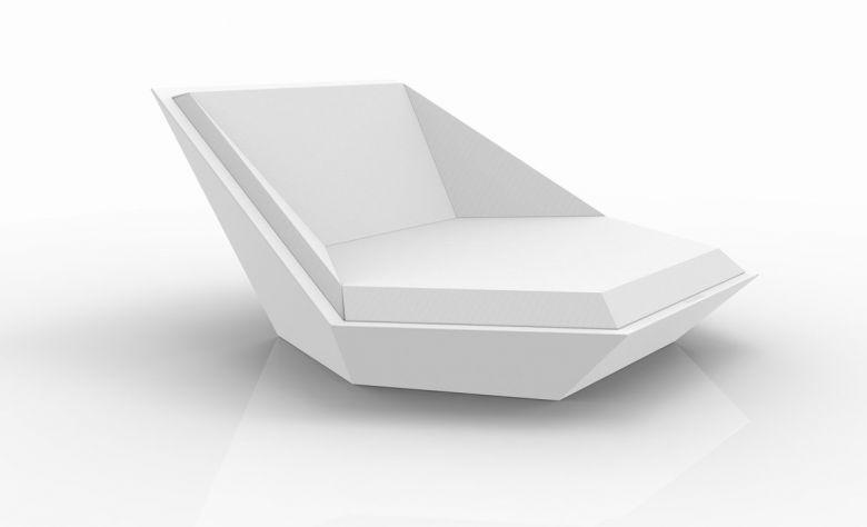 Chaise longue Faz Daybed - Design Ramon Esteve - Vondom