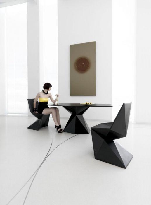 Chaise Vertex - Design Karim Rashid - Vondom